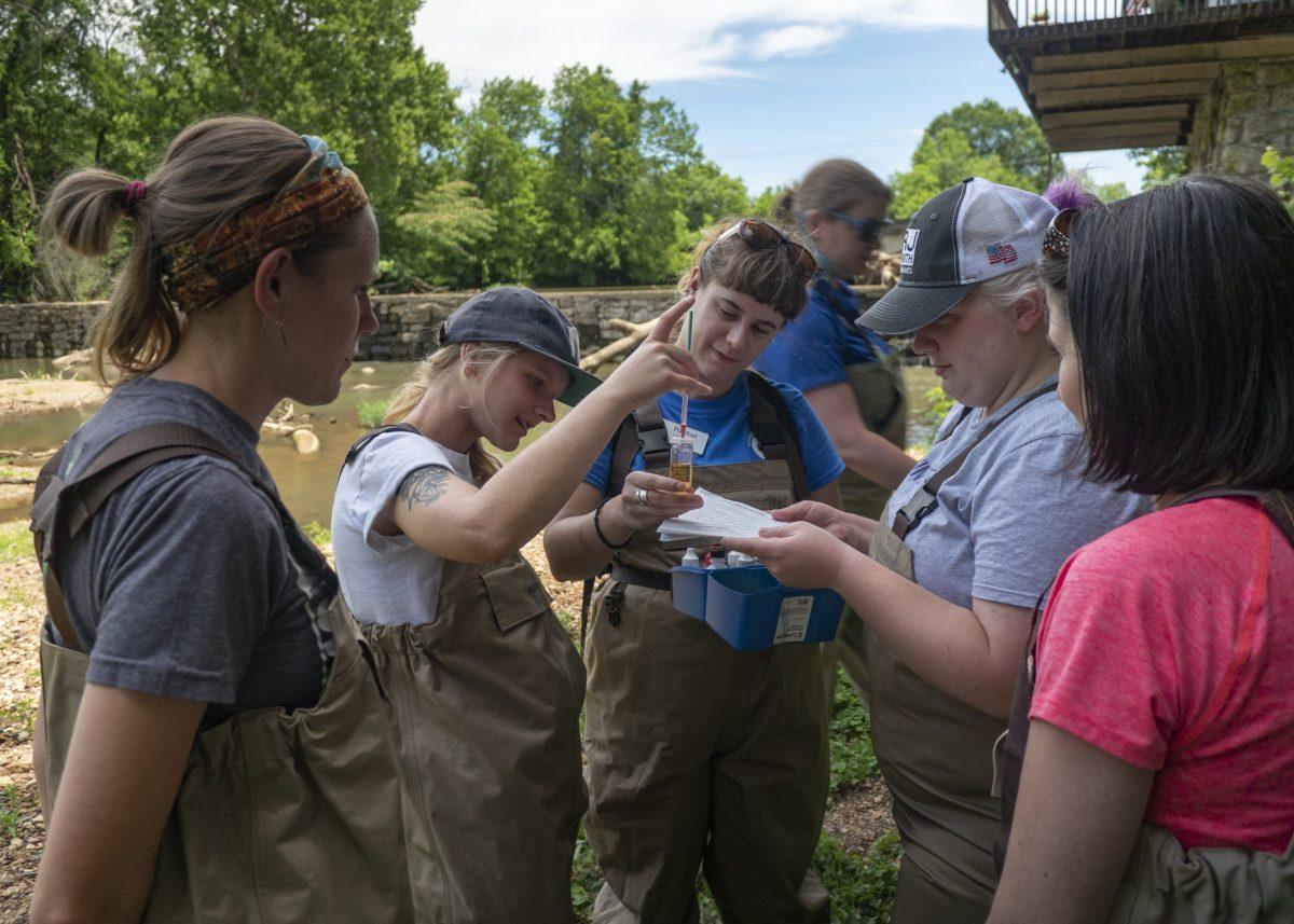 A Tennessee Aquarium's River Teachers workshop