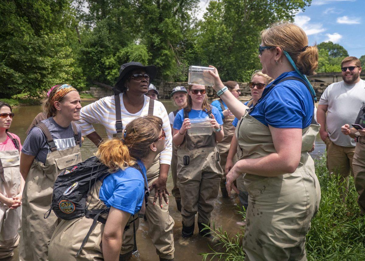 A the Tennessee Aquarium's River Teachers workshops