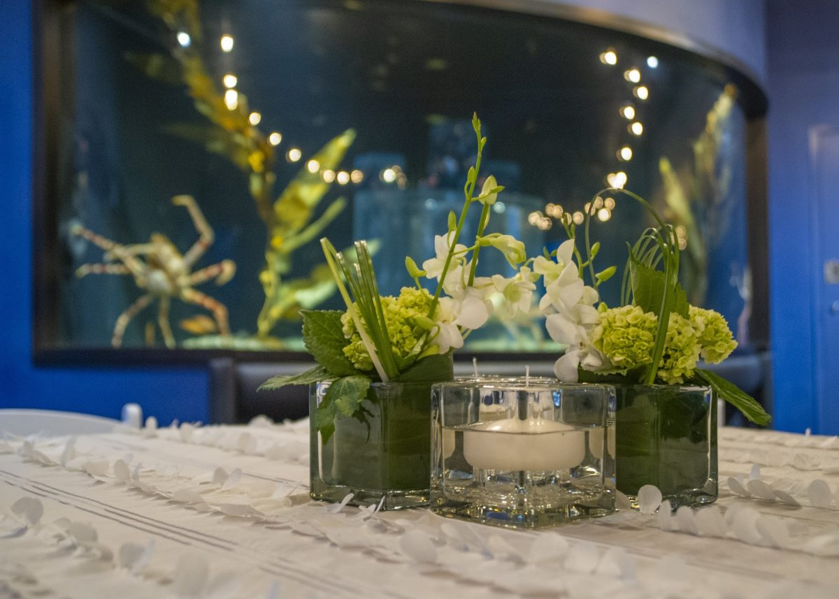 guest table in Boneless Beauties gallery