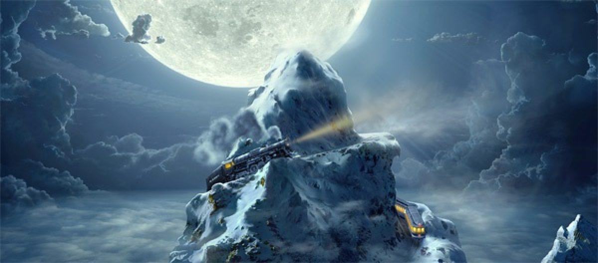 Polar Express on mountain