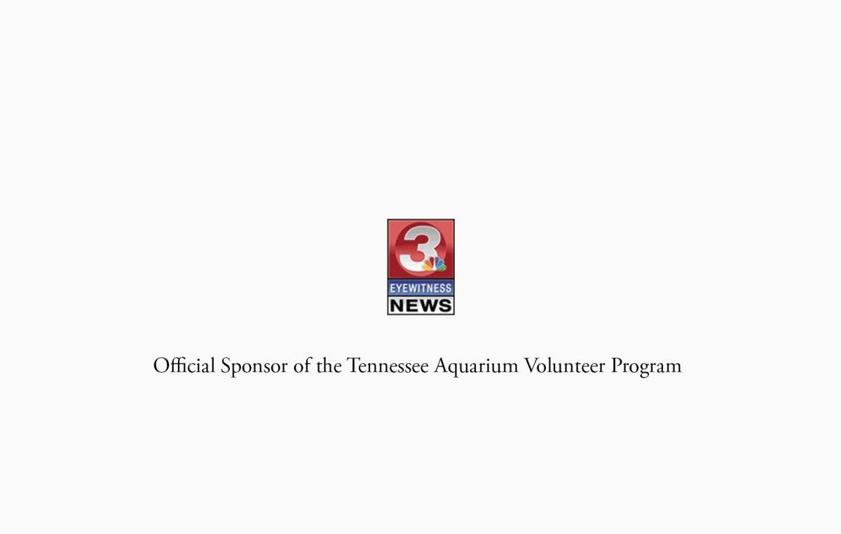 The Tennessee Aquarium Volunteer Program is Sponsored by Channel 3 Eyewitness News