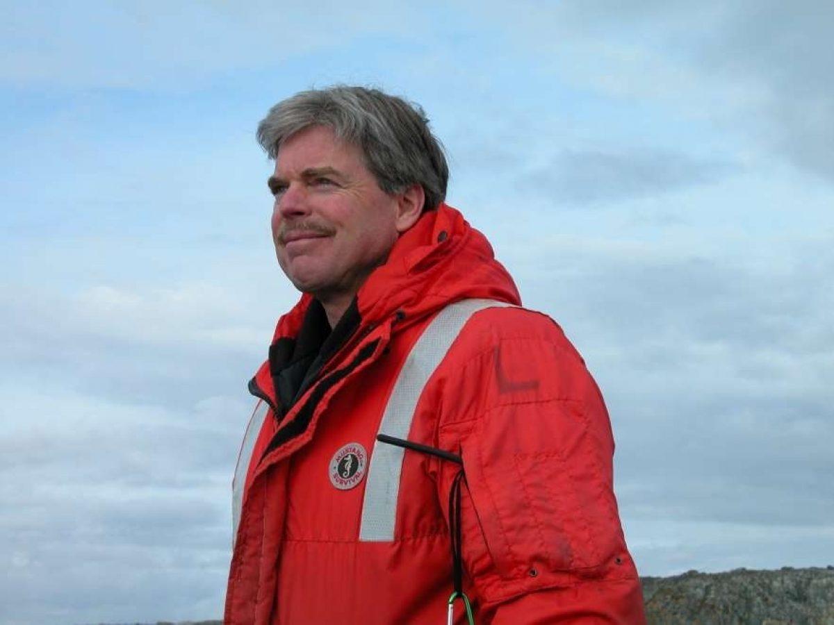 Dr. James McClintock visits Antarctica
