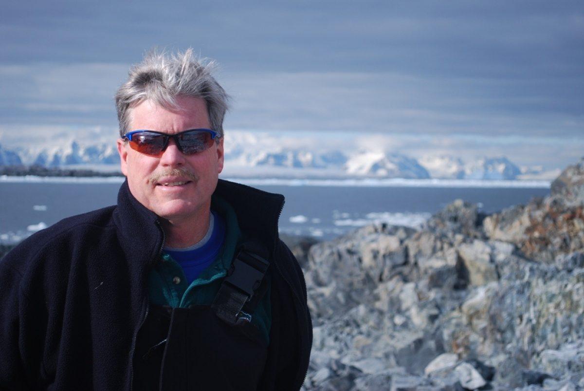 Polar and marine biology expert Dr. James McClintock